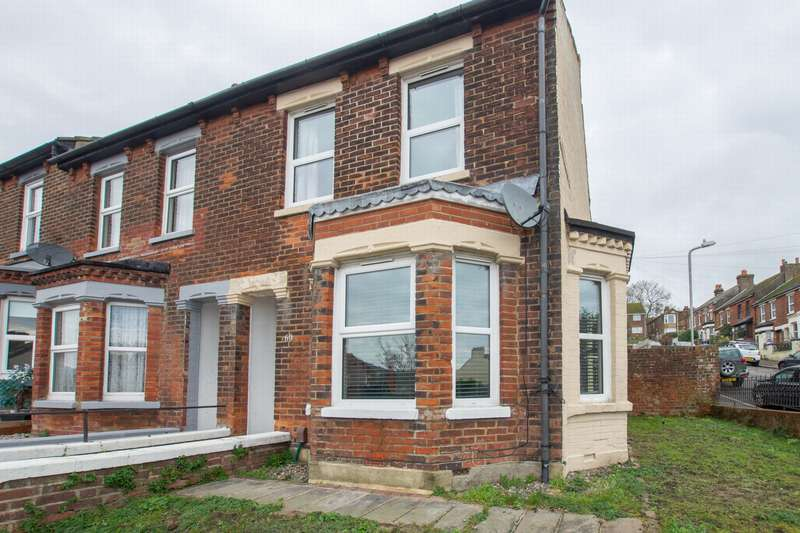 3 Bedrooms End Of Terrace House for sale in Heathfield Avenue, Dover, CT16