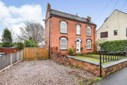 4 Bedrooms Detached House for sale in Queen Street, Chasetown, Burntwood