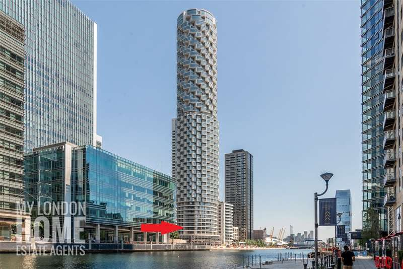 2 Bedrooms Apartment Flat for sale in One Park Drive, Canary Wharf, E14
