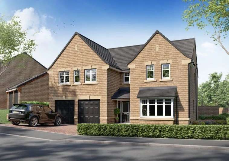 5 Bedrooms Detached House for sale in Foresters View, Roes Lane, Crich, Derbyshire, DE4