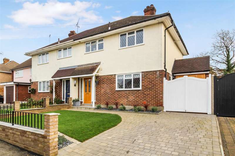 3 Bedrooms Semi Detached House for sale in Abbots Close, Shenfield, Brentwood