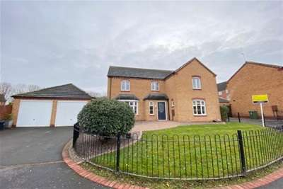 4 Bedrooms Detached House for rent in Darwin Crescent, Loughborough, LE11 5SB