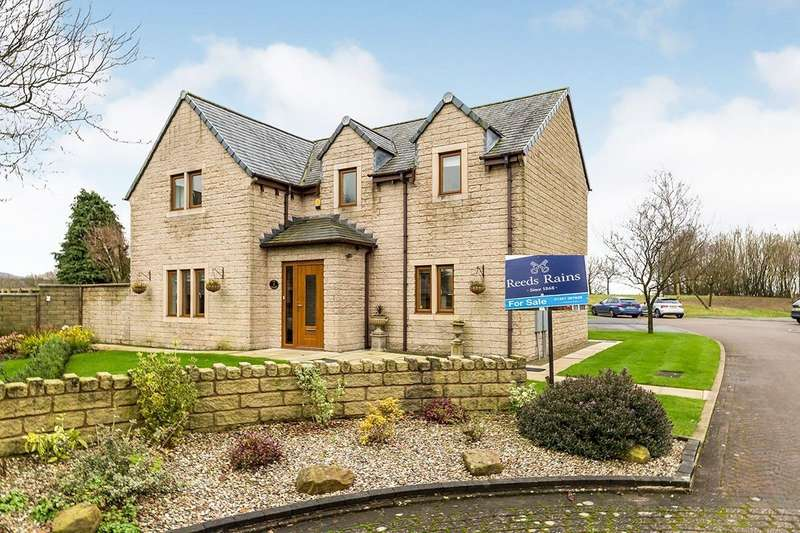 4 Bedrooms Detached House for sale in Flag Lane, Heath Charnock, Chorley, Lancashire, PR6