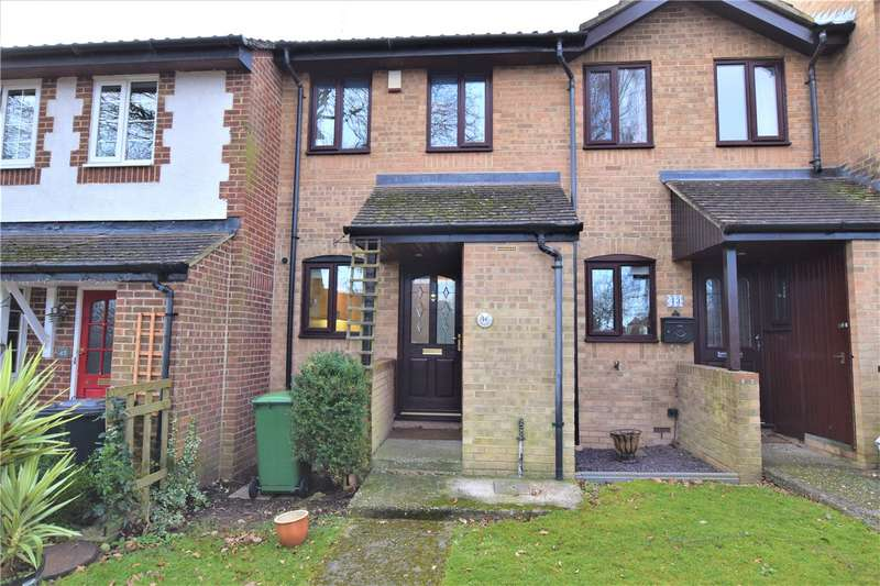 2 Bedrooms Terraced House for rent in Horseshoe Crescent, Burghfield Common, Reading, Berkshire, RG7