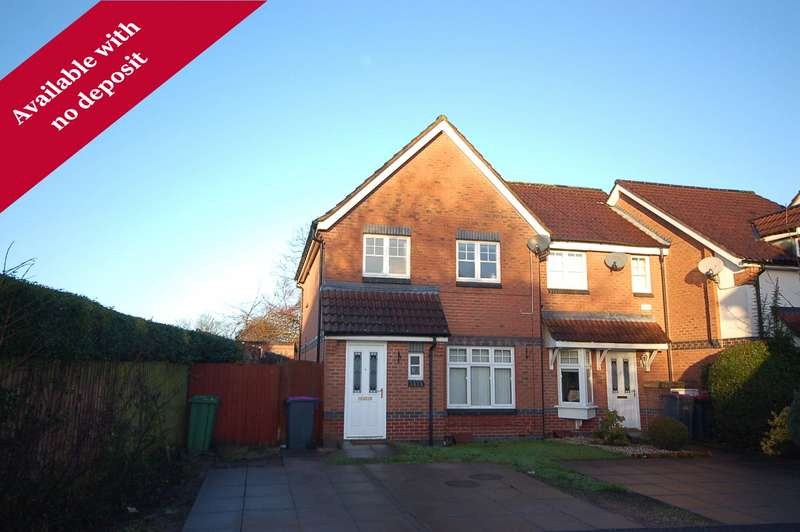 3 Bedrooms Semi Detached House for rent in 4 Levins Court, Madeley, Telford, Shropshire, TF7