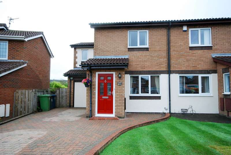 3 Bedrooms Semi Detached House for sale in Thornbury Close, The Cotswolds, Boldon Colliery