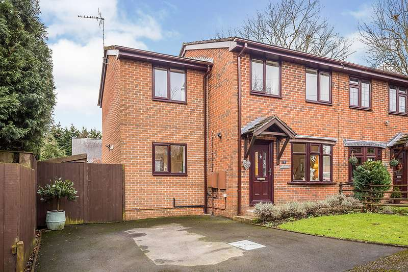 3 Bedrooms Semi Detached House for sale in Baytree Avenue, St. Martins, Oswestry, Shropshire, SY11