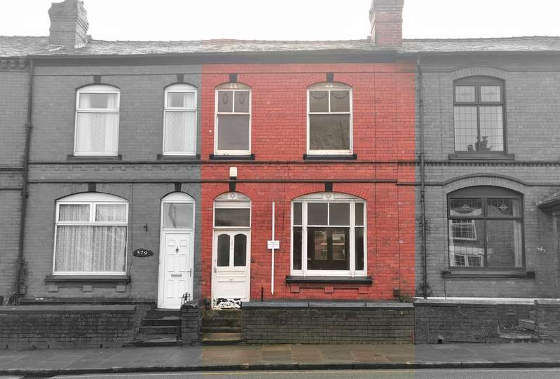 2 Bedrooms Terraced House for sale in 581 Halliwell Road