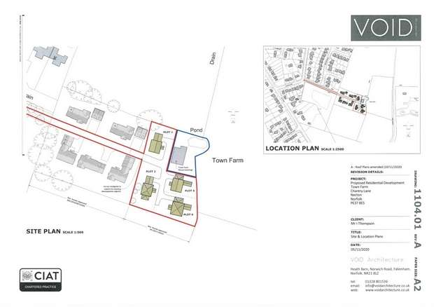 Land Commercial for sale in Necton