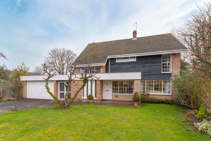 4 Bedrooms Detached House for sale in Dorridge Croft, Dorridge
