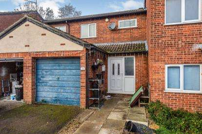 2 Bedrooms Terraced House for sale in Sorrel Close, Luton, Bedfordshire