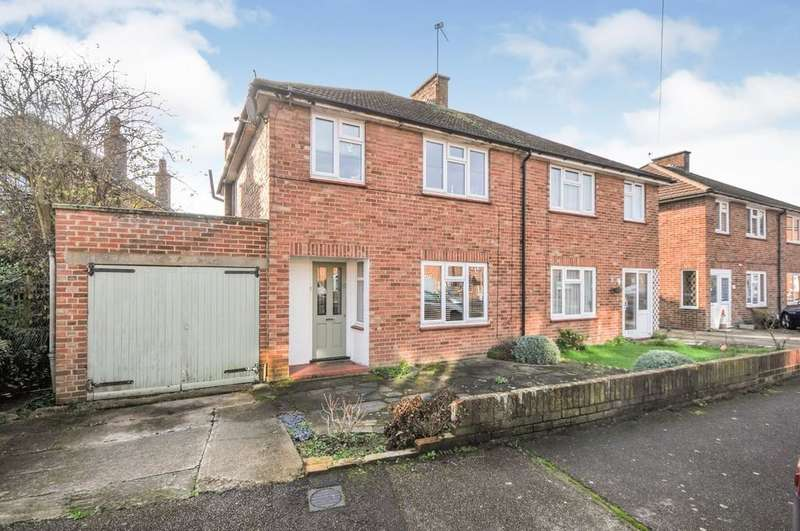 3 Bedrooms Semi Detached House for sale in Ruxley Close, Sidcup, DA14 5LS