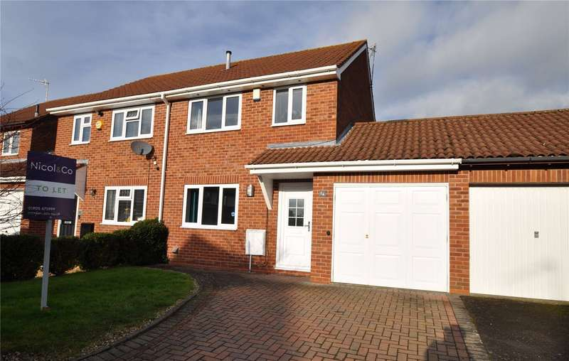 3 Bedrooms Semi Detached House for rent in The Furrows, Stoke Heath, Bromsgrove