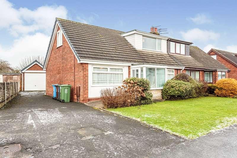 3 Bedrooms Semi Detached House for sale in Cedar Avenue, Warton, Preston, Lancashire, PR4