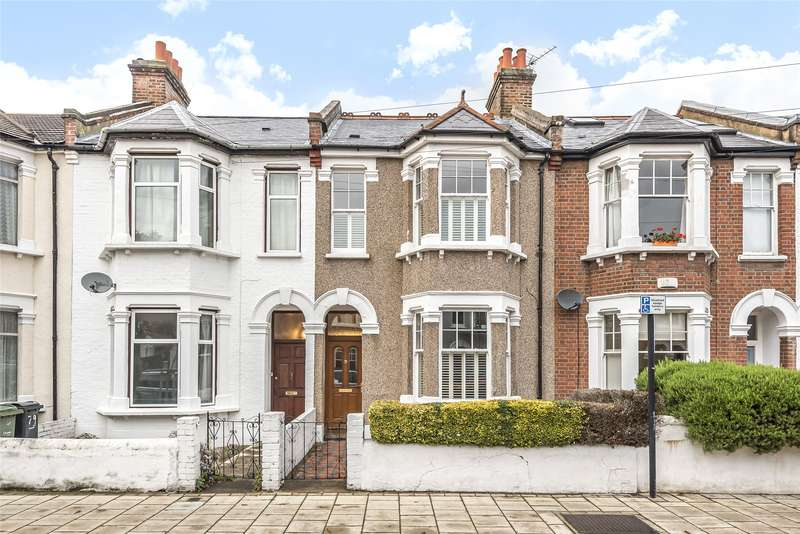 3 Bedrooms Terraced House for sale in Hydethorpe Road, Balham, London, SW12