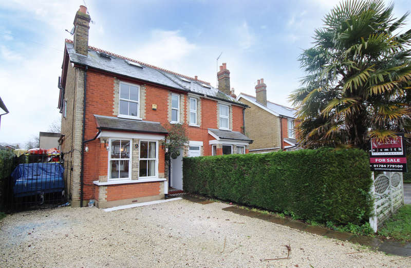 4 Bedrooms Semi Detached House for sale in Staines Road, Staines-upon-Thames