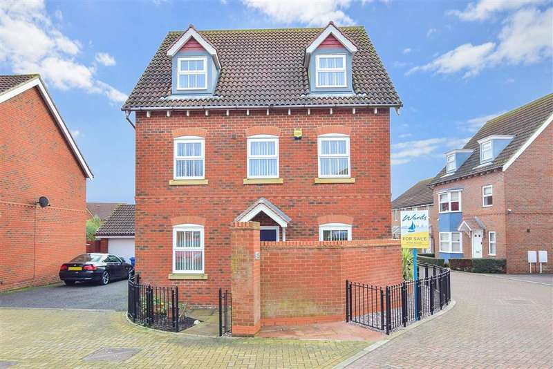 5 Bedrooms Detached House for sale in Mallow Road, , Minster On Sea, Sheerness, Kent