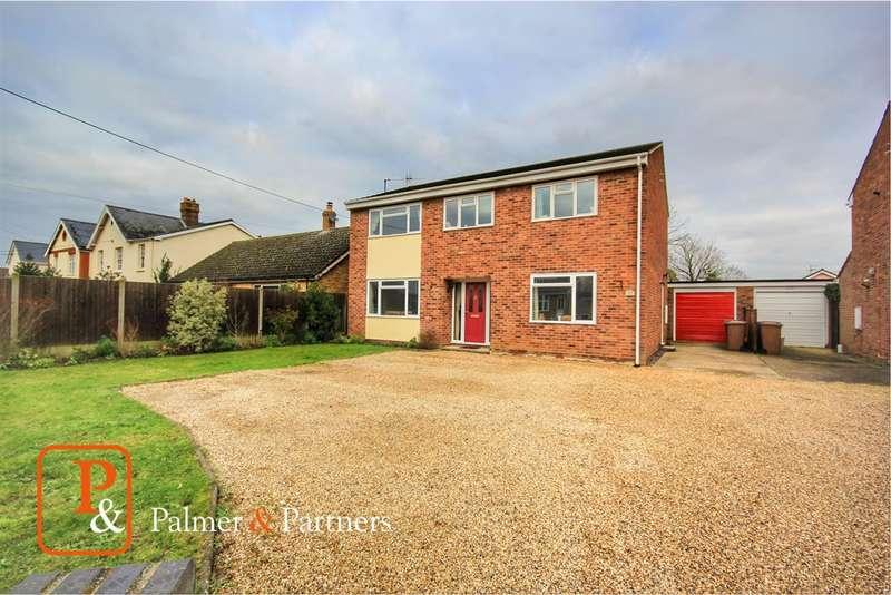 4 Bedrooms Detached House for sale in Bures Road, Great Cornard