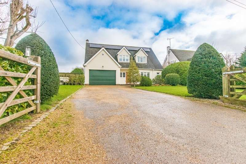4 Bedrooms Detached House for sale in Bigods Lane, Dunmow