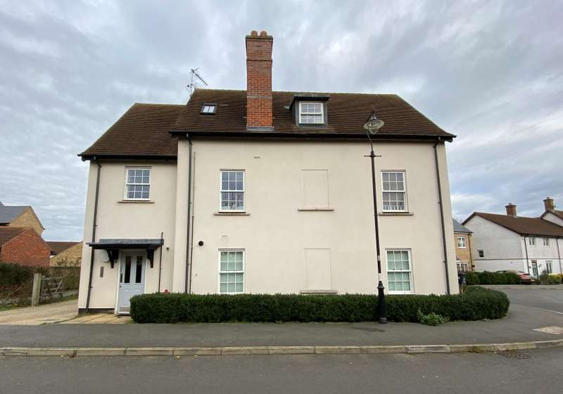 2 Bedrooms Flat for sale in Mander Farm Road, Silsoe, Bedford, Bedfordshire, MK45 4FJ