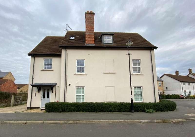 2 Bedrooms Flat for sale in Mander Farm Road, Silsoe, Bedford, Bedfordshire, MK45 4FJ