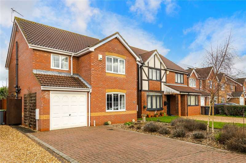 4 Bedrooms Detached House for sale in Mercia Close, Quarrington, Sleaford, NG34