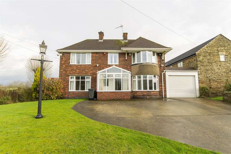 4 Bedrooms Detached House for sale in Mansfield Road, Winsick