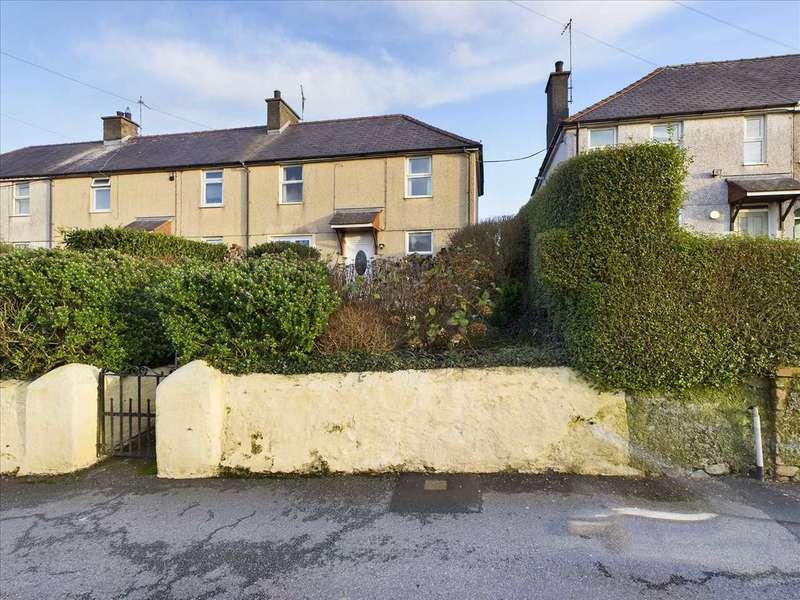 3 Bedrooms End Of Terrace House for sale in Lon Cilgwyn, Llanerchymedd