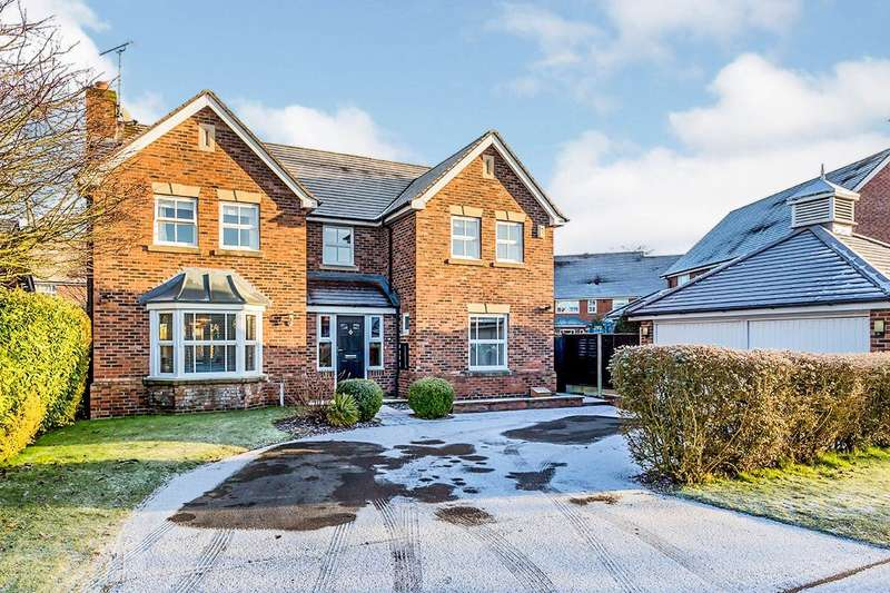 4 Bedrooms Detached House for sale in Needham Drive, Cranage, Cheshire, CW4
