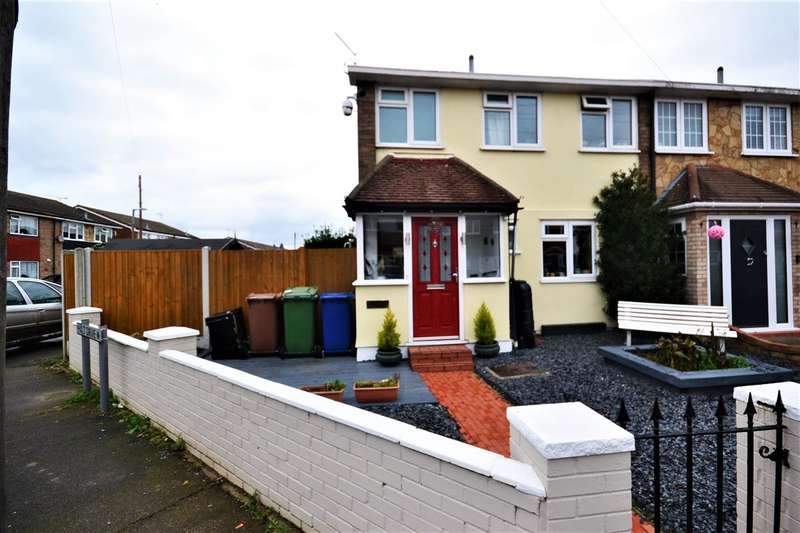 3 Bedrooms End Of Terrace House for sale in Beechcroft Avenue, Linford