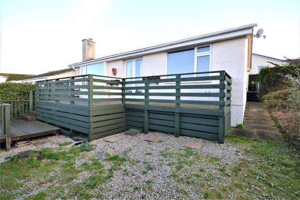 2 Bedrooms Semi Detached Bungalow for sale in St. Georges Road, Looe, Cornwall