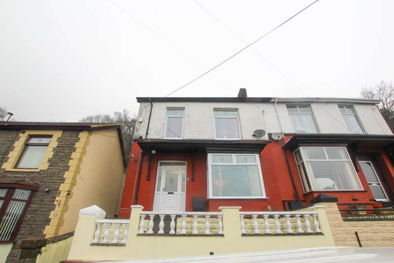 3 Bedrooms Semi Detached House for sale in Plantation Road, Abercynon