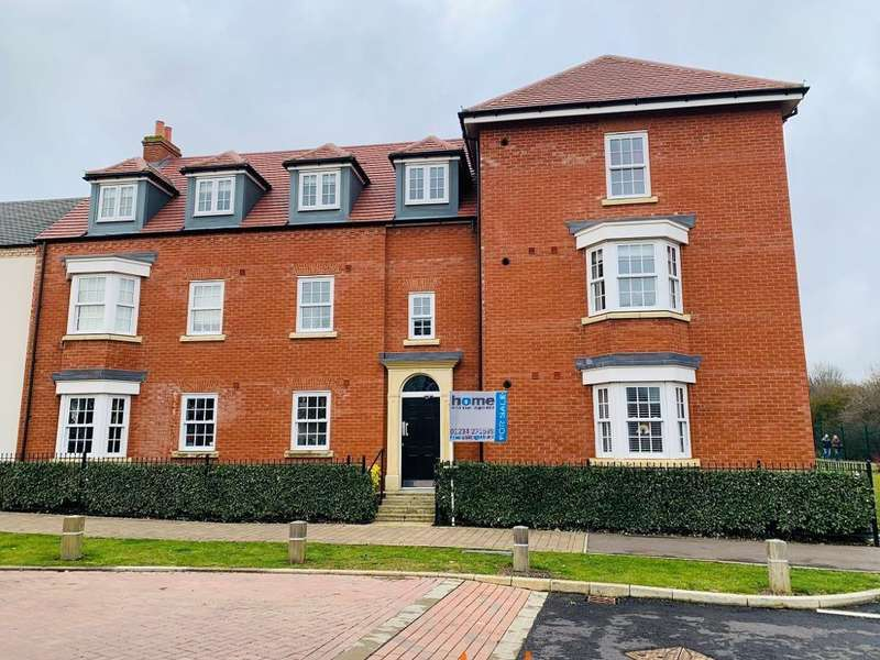 2 Bedrooms Flat for sale in Wilkinson Road, Bedford Meadows, Kempston, Beds, MK42 7FR