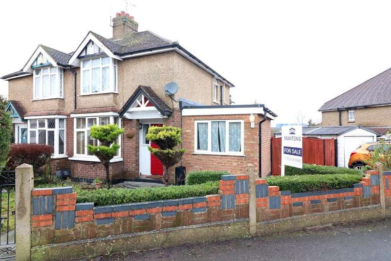 2 Bedrooms Semi Detached House for sale in Windermere Crescent, Luton, Bedfordshire, LU3 2PR