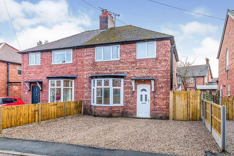 3 Bedrooms Semi Detached House for sale in Ashfield Street, Middlewich, Cheshire, CW10