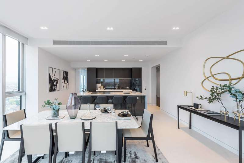 3 Bedrooms Flat for sale in Lillie Square, West Brompton, SW6