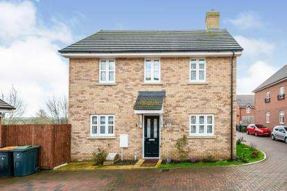 3 Bedrooms Detached House for sale in Radcliffe Mews, Shortstown, Bedford, Bedfordshire
