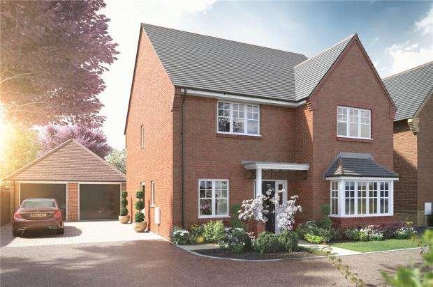4 Bedrooms Detached House for sale in Equestrian Walk, Biggs Lane, Arborfield Green