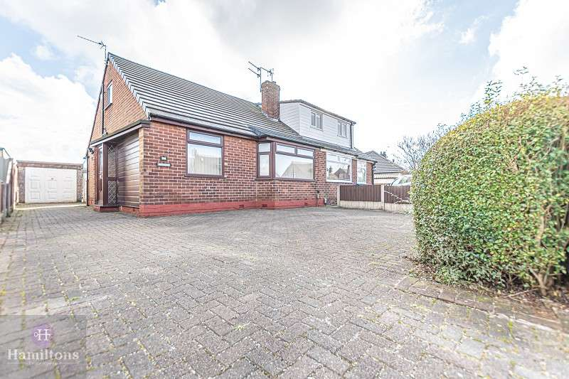 2 Bedrooms Semi Detached Bungalow for sale in Landside, Leigh, Greater Manchester. WN7 3JT