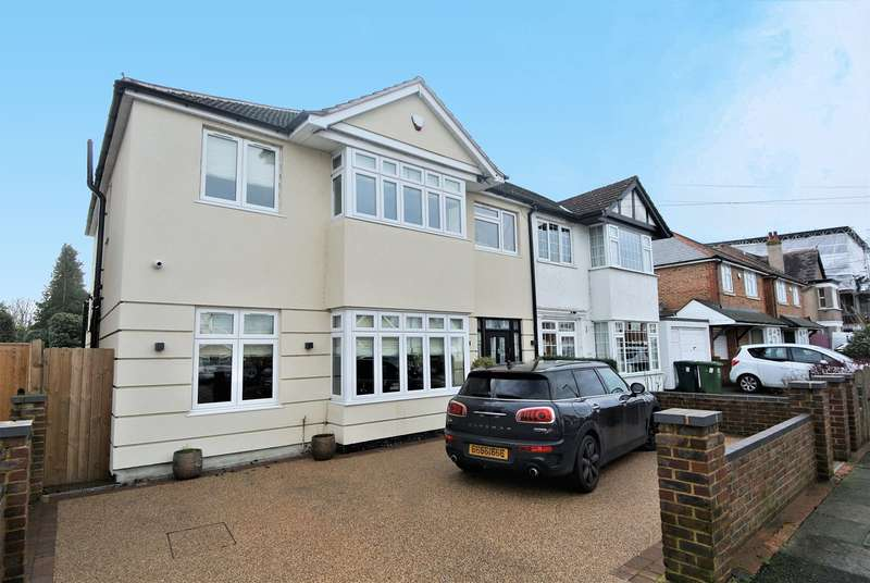 5 Bedrooms Semi Detached House for sale in Station Crescent, Ashford, TW15