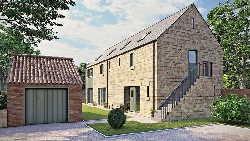 5 Bedrooms Detached House for sale in Highfield Farm, Palterton, Chesterfield