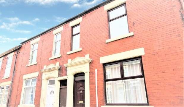 4 Bedrooms Terraced House for sale in Norris Street, Preston, PR1