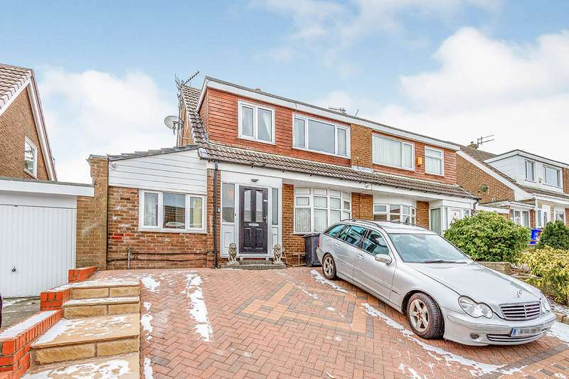 3 Bedrooms Semi Detached House for sale in Redness Close, Nelson, Lancashire, BB9