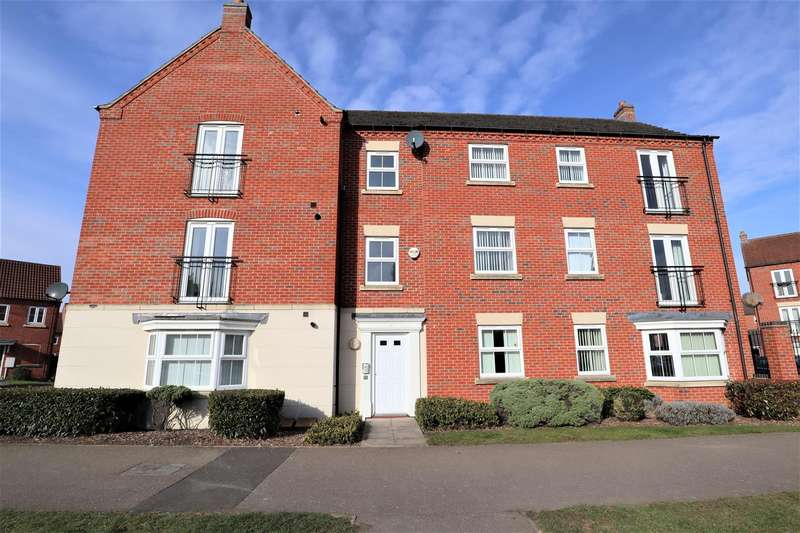 2 Bedrooms Flat for sale in Moorhen Close, Witham St. Hughs, Lincoln