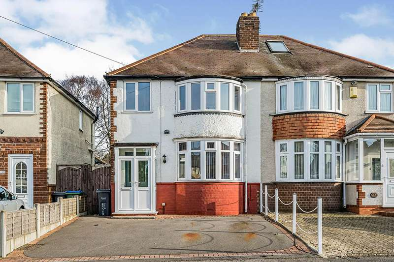 3 Bedrooms Semi Detached House for sale in Swan Crescent, Oldbury, West Midlands, B69