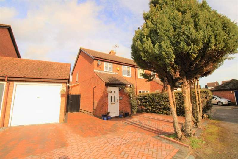 3 Bedrooms Semi Detached House for sale in Rowlheys Place, West Drayton, UB7 9NQ