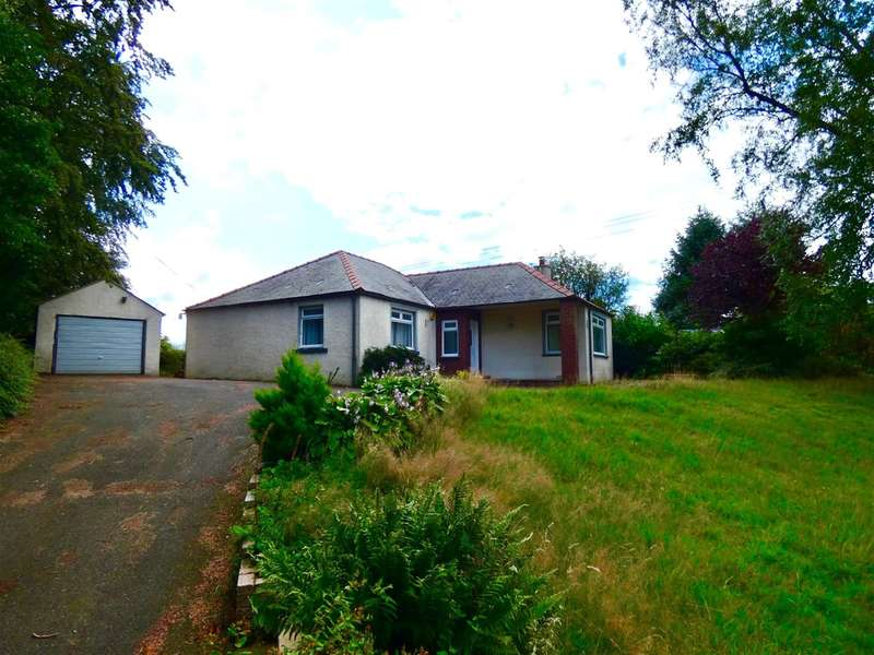 3 Bedrooms Detached Bungalow for sale in Broomhill, Auldgirth, Dumfries, DG2 0RS