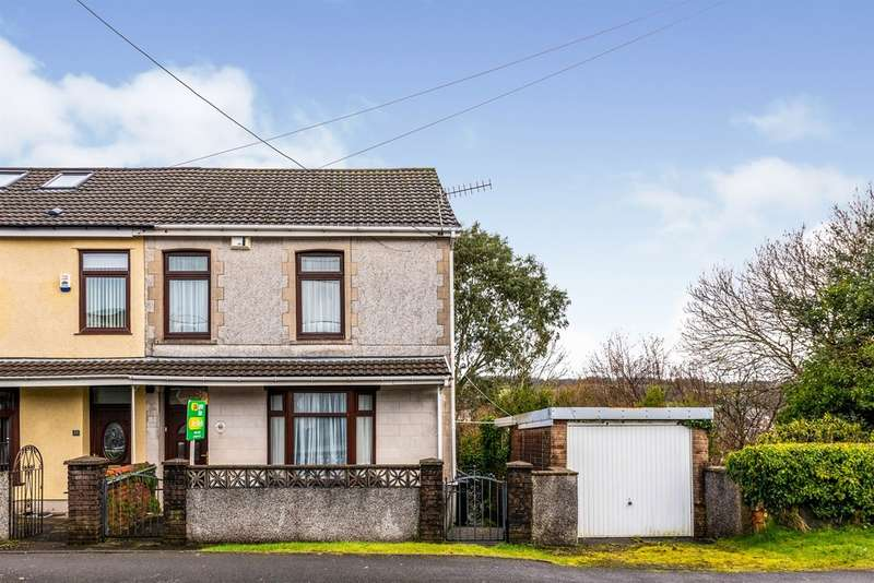2 Bedrooms Semi Detached House for sale in Tramway, Hirwaun, ABERDARE