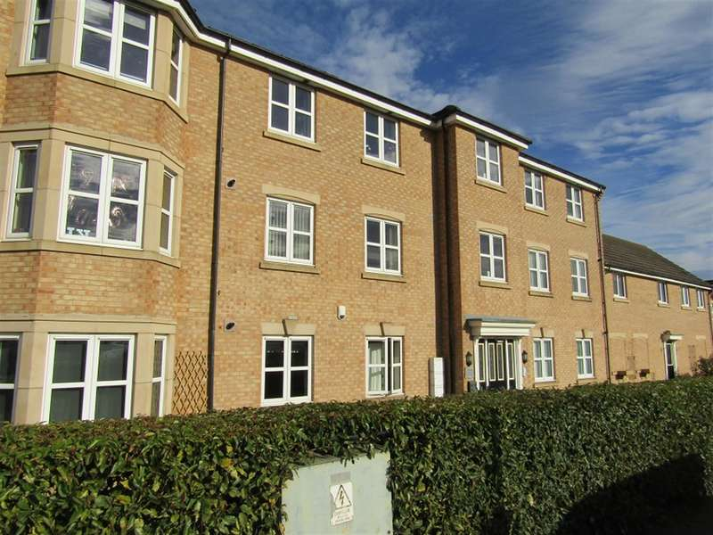 2 Bedrooms Apartment Flat for sale in Adlington Mews, Gainsborough, DN21 1ZD