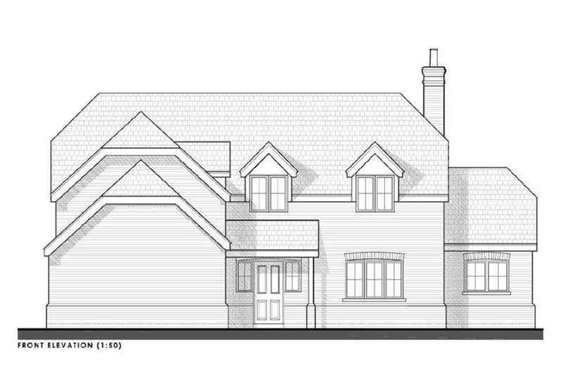 4 Bedrooms Detached House for sale in Plot 13, Highfields, Louth, LN11 9XZ